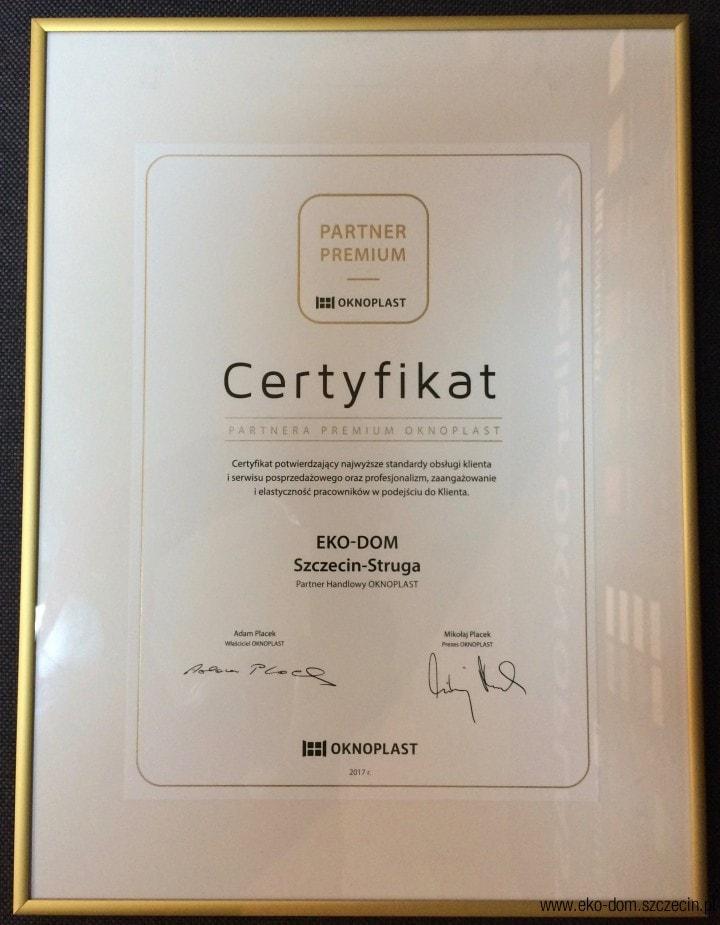 eko-dom certyfikaty